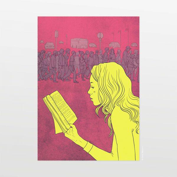 A Tempo di Donna by Carin Marzaro - stampa artistica fine art giclée print