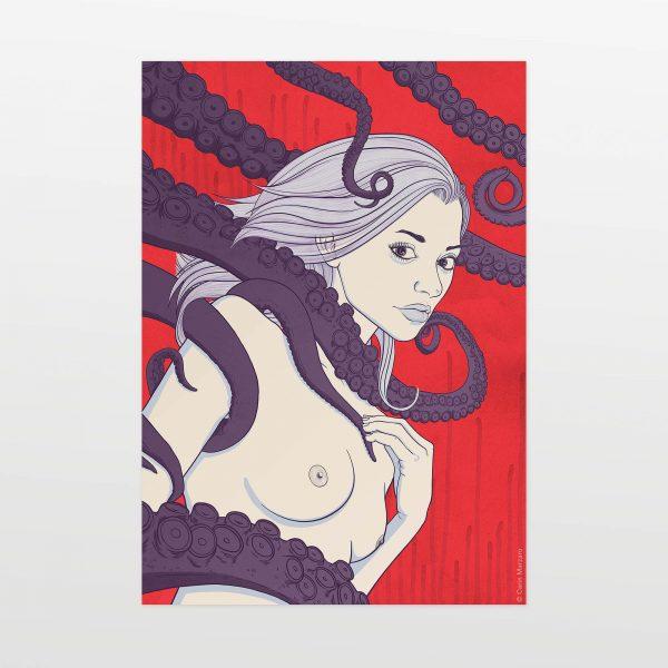 Alimede by Carin Marzaro - stampa artistica fine art giclée print
