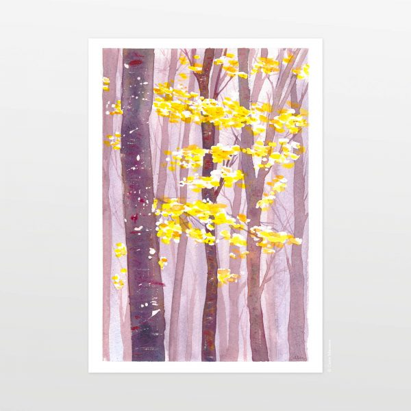 Bosco by Carin Marzaro - stampa artistica fine art giclée print
