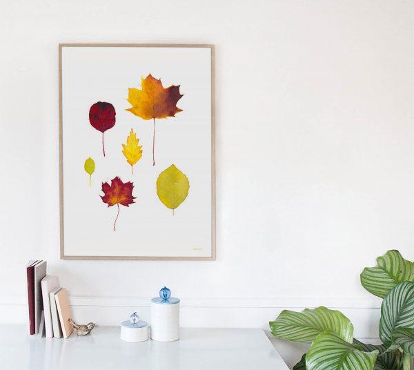 Foglie by Carin Marzaro - stampa artistica fine art giclée print