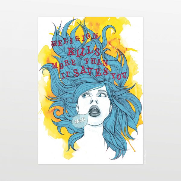 Karen Revisited by Carin Marzaro - stampa artistica fine art giclée print