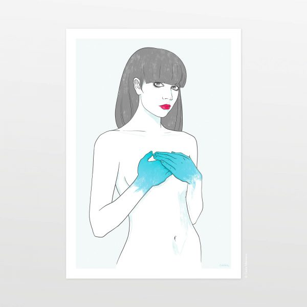 L'incompleta by Carin Marzaro - stampa artistica fine art giclée print